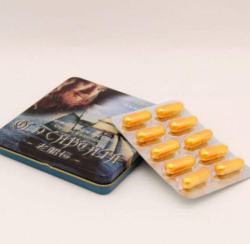 Купить капсулы Старый капитан - таблетки для потенции
